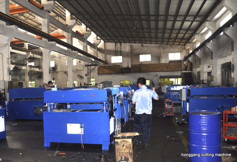 06-HG production line for manual cutting machine
