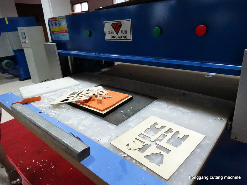 plywood die cutting machine