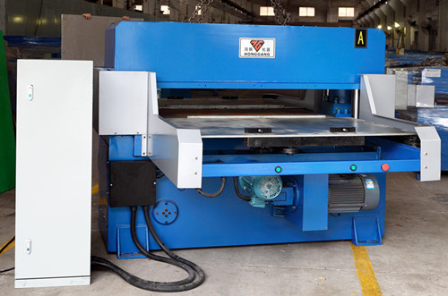 plastic film cutting machine