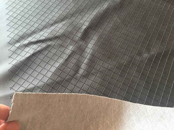 fabric cloth leather embossing samples