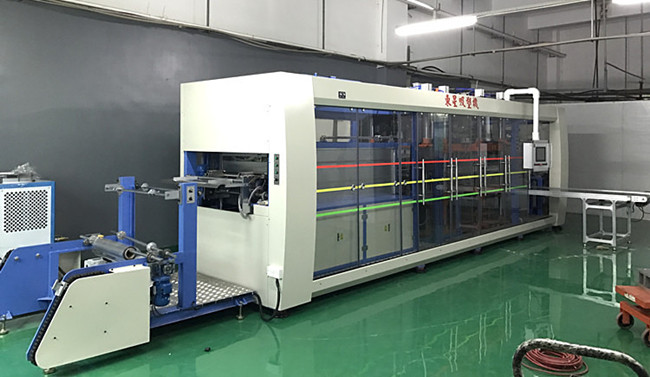 fully automatic plastic thermoforming punching machine