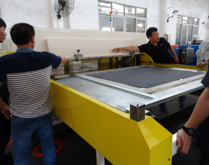 Super Area Cutting Machine for Car Interior