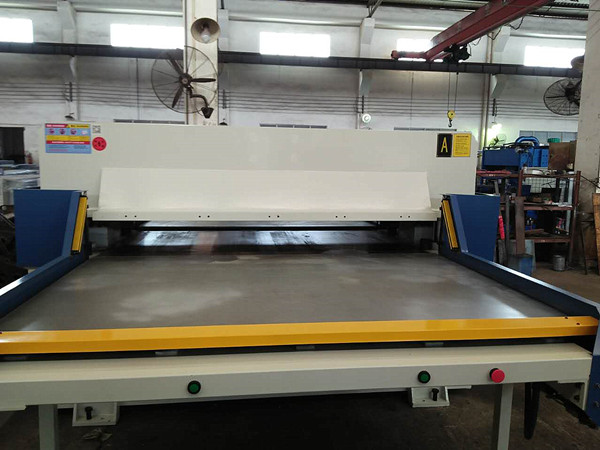 cutting table press machine