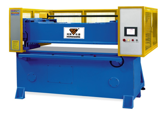 receding hydraulic manual die cutting press machine