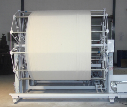 Non woven cloth rewinding machine / rewinder for facial mask
