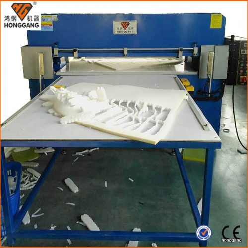 Cleaning sponge foam cutting machine