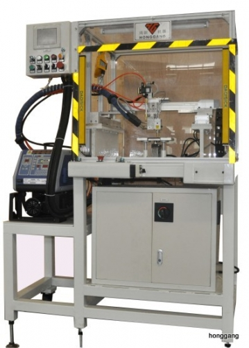 automatic 3D gluing machine for brake pad