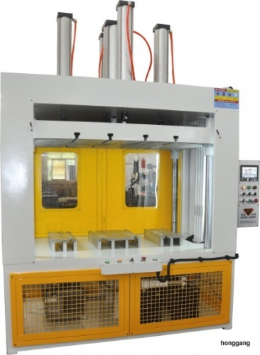Single working station forming machine for  Instruments covered