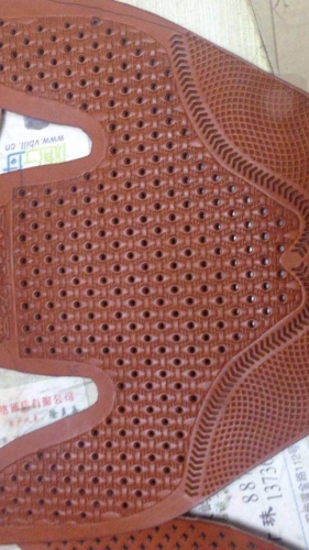 Shoe Upper Embossing Dies/Plates