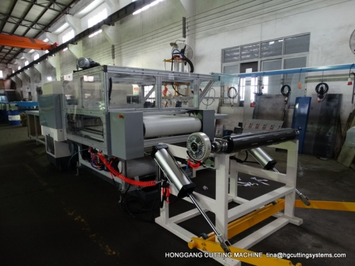 Roller Belt feeding hydraulic die cutting press machine