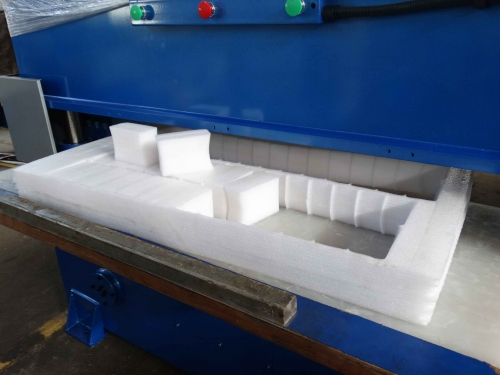 Very Thick PE Packing Foam TEST Cutting
