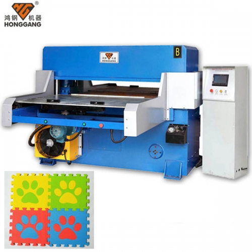 automatic rubber floor mat board cutting machine