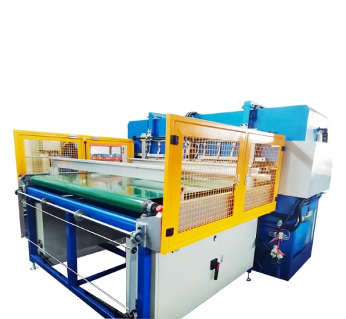 Automatic hydraulic heating and sealing cutting machine