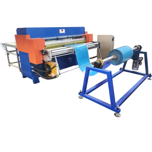 High precision conveyor belt hydraulic cutting machine